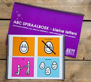 ABC-spiraalboek En Vier-vakkenboekje