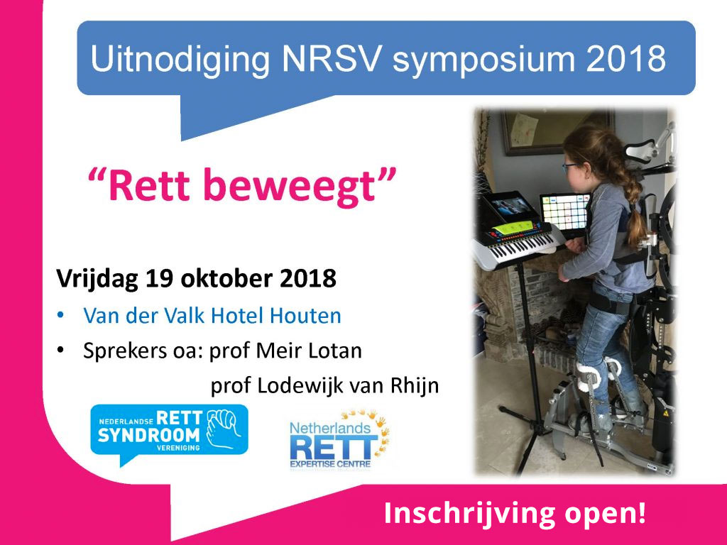 Symposium 'Rett Beweegt'