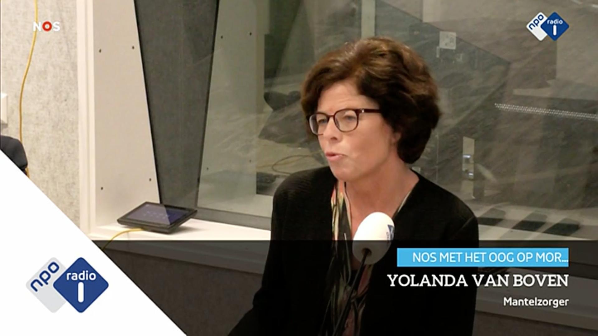 Radio Interview NOS Met Het Oog Op Morgen Met Moeder Yolanda