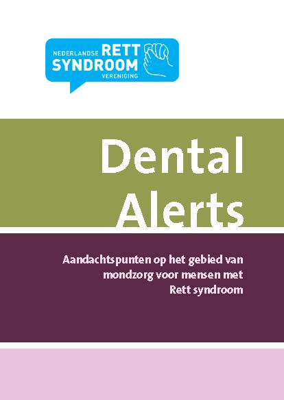 Dental alerts – mondzorg voor mensen met Rett syndroom