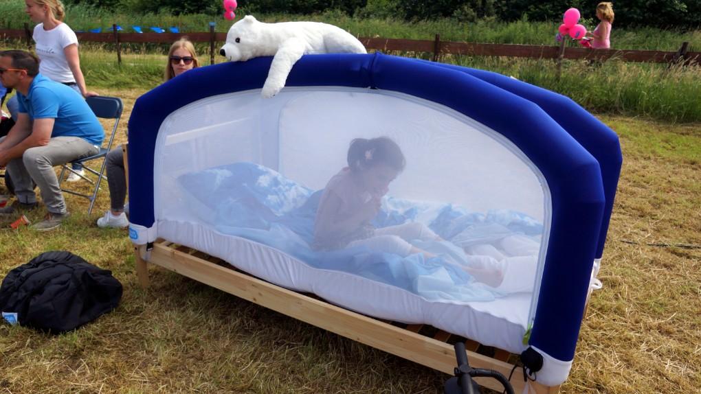 een eigen tent op de Rett Familiedag