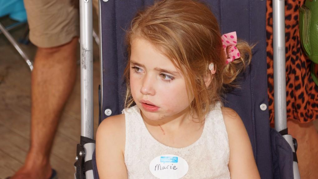 ook Marie was erbij op de Rett Familiedag