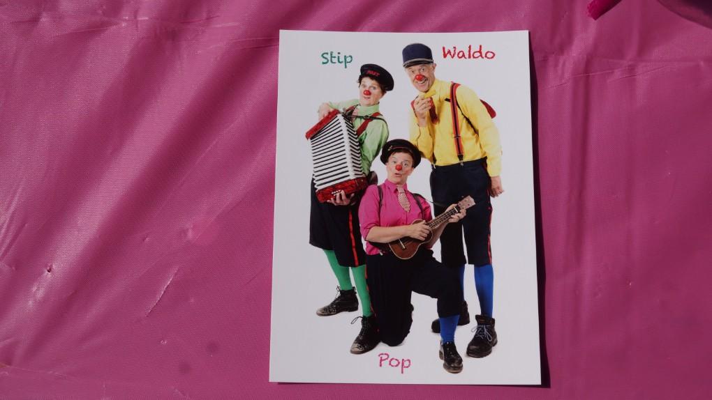 Stip, Waldo en Pop waren ook op de Rett Familiedag
