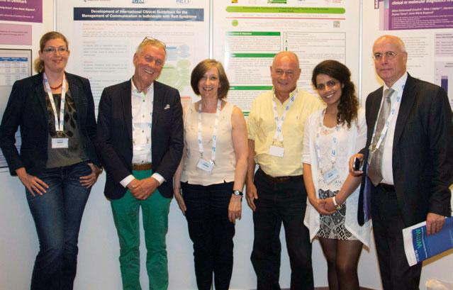 Het Rett Expertisecentrum Nederland Was Actief Betrokken Bij De Organisatie Van Het Congres In Wene